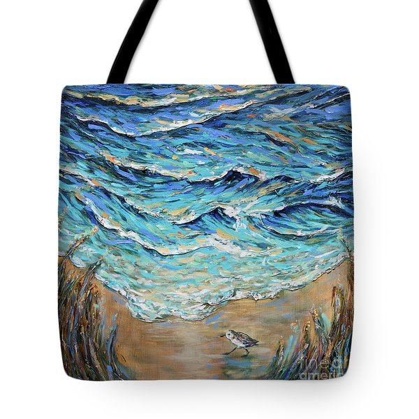 Afternoon Tide Tote Bag