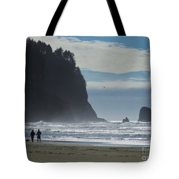 Cape Meares Tote Bag by Michele Penner