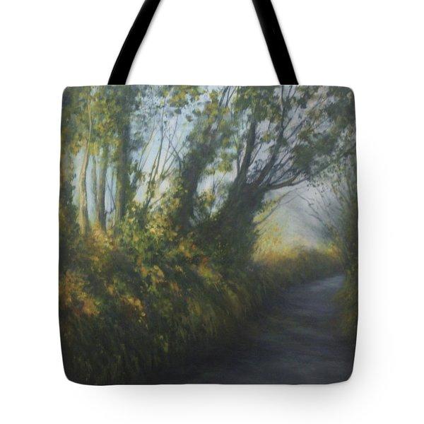 Afternoon Walk Tote Bag by Valerie Travers