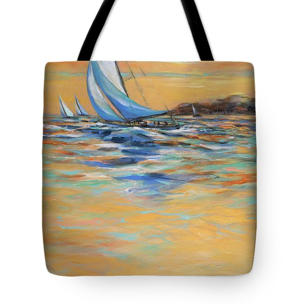 Afternoon Winds Tote Bag