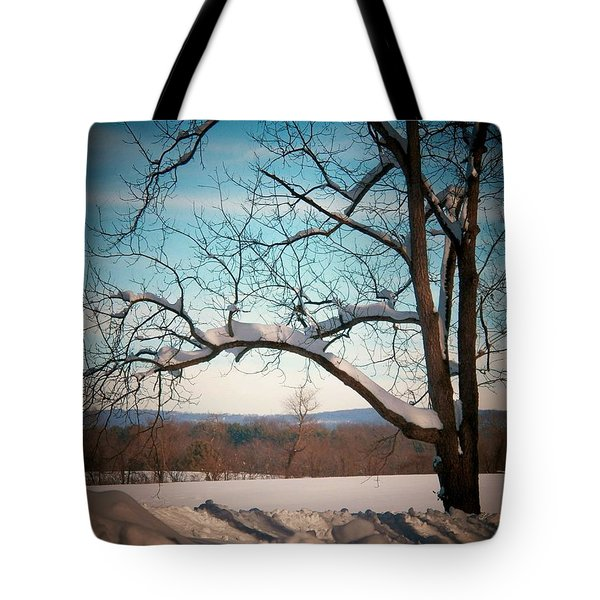 Afterr The Blizzard Tote Bag by Joyce Kimble Smith