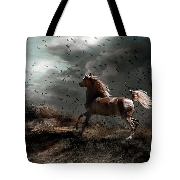 Against All Odds Tote Bag by Dorota Kudyba