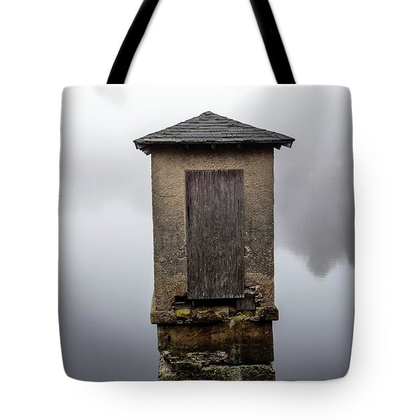 Tote Bag featuring the photograph Against The Fog by Karol Livote