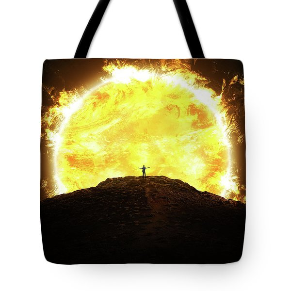Against The Sun Tote Bag