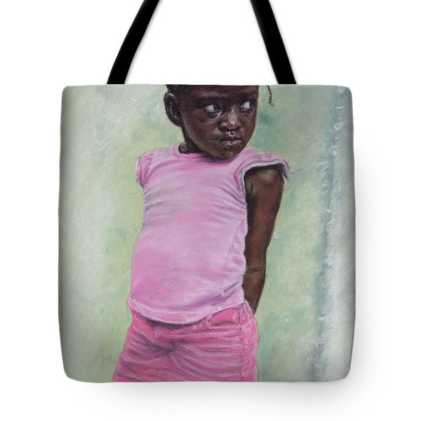 Against The Wall Tote Bag