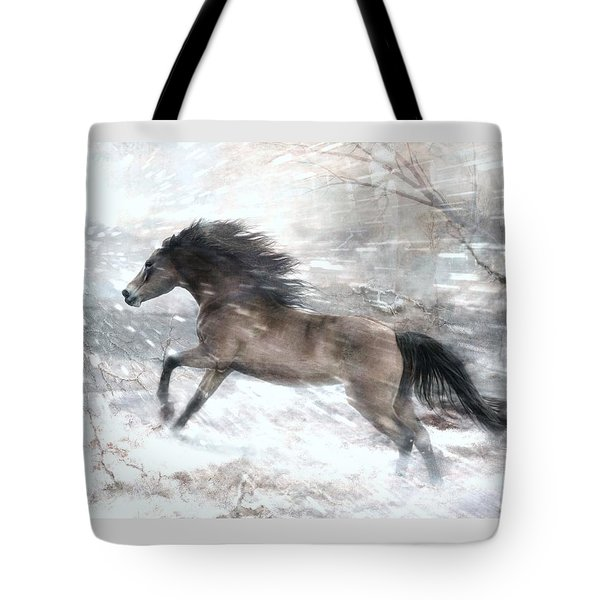 Against The Wind Tote Bag by Dorota Kudyba