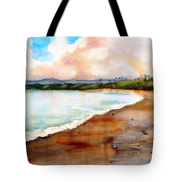 Aganoa Beach Savai'i Tote Bag