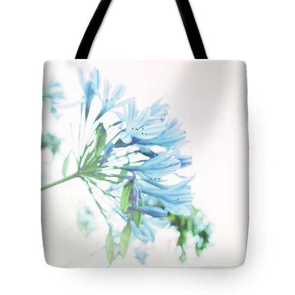 Tote Bag featuring the photograph Agapanthus 1 by Cindy Garber Iverson