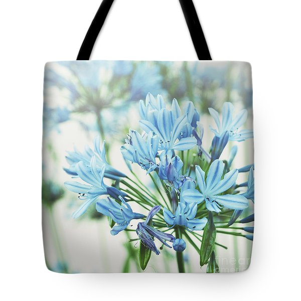 Tote Bag featuring the photograph Agapanthus 2 by Cindy Garber Iverson