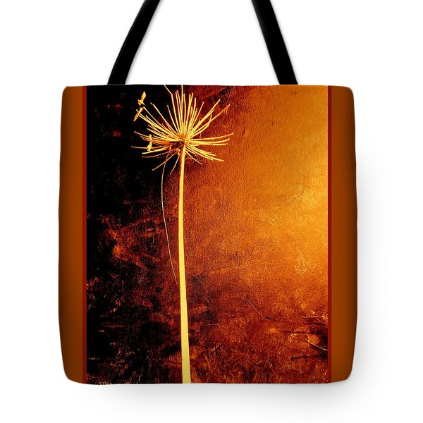 Agapanthus After The Storm Tote Bag