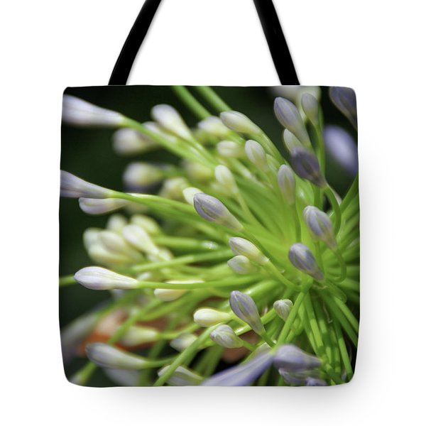 Tote Bag featuring the photograph Agapanthus, The Spider Flower by Yoel Koskas