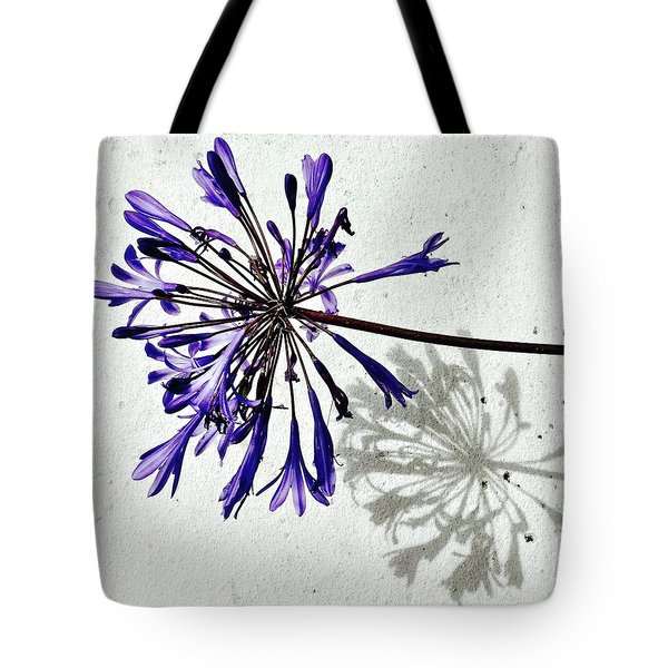 Agapanthus Tote Bag by Julie Gebhardt