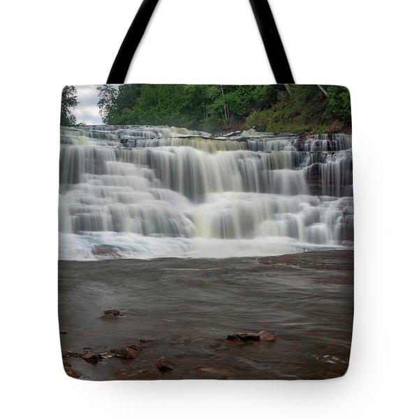 Agate Falls Tote Bag