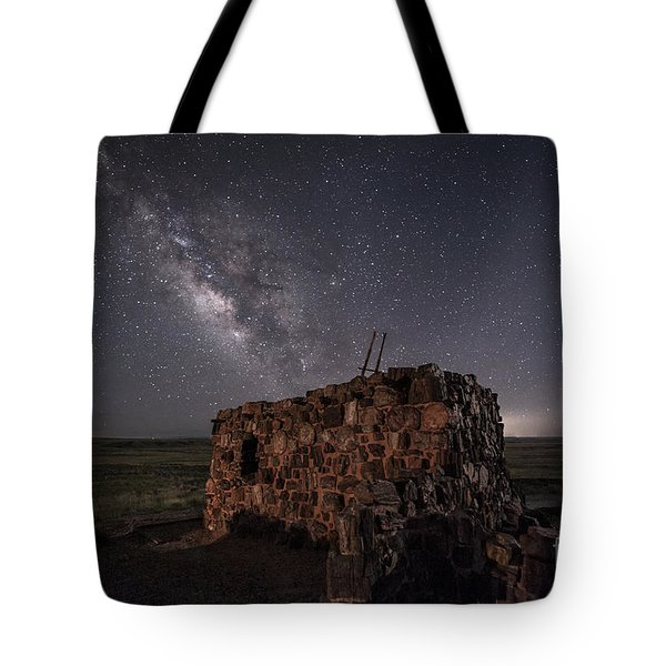 Agate House At Night Tote Bag