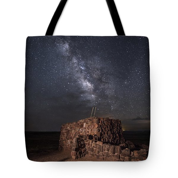 Agate House At Night2 Tote Bag