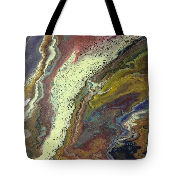 Agate Waterfall Tote Bag
