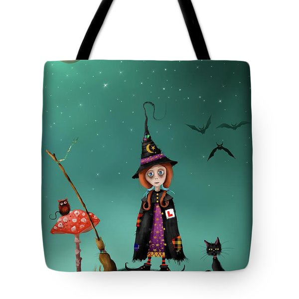 Agatha And Angus, Learning To Fly Tote Bag