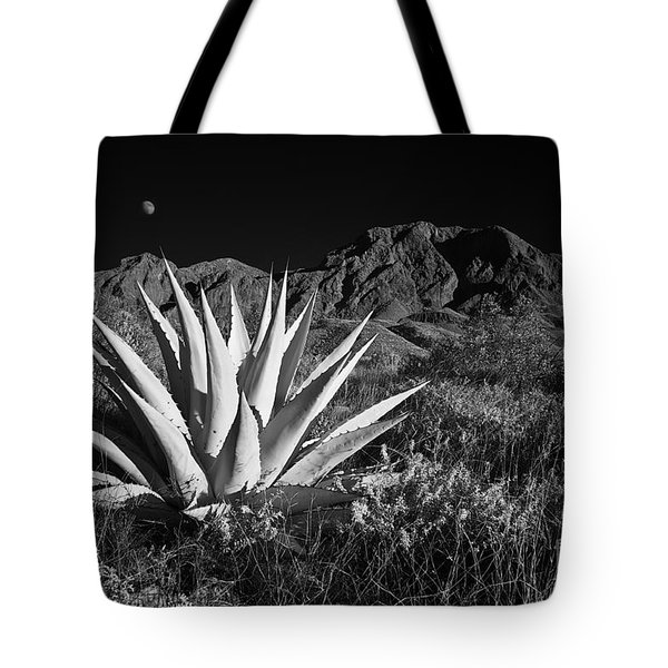 Agave And Moonrise Tote Bag