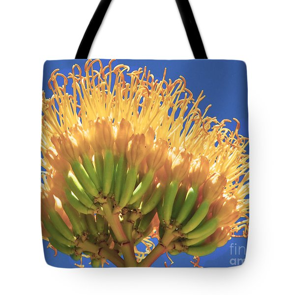 Agave Bloom Tote Bag