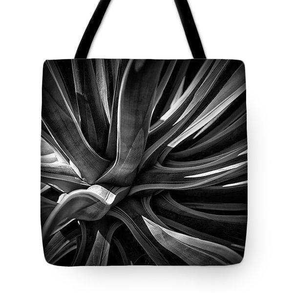 Agave Burst Tote Bag by Lynn Palmer