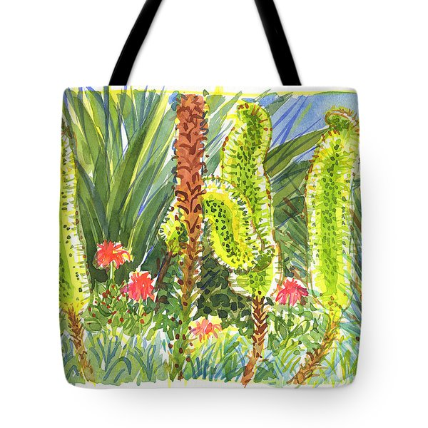 Agave In Bloom Tote Bag
