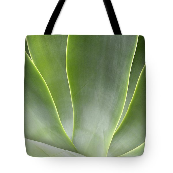 Agave Leaves Tote Bag