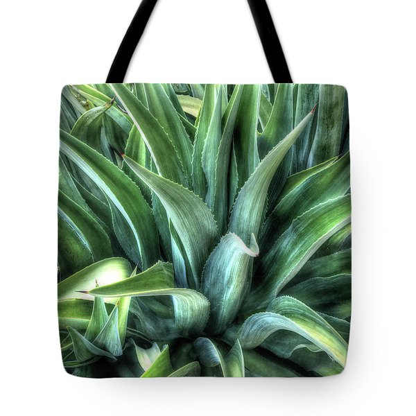 Tote Bag featuring the photograph Agave by Lynn Geoffroy
