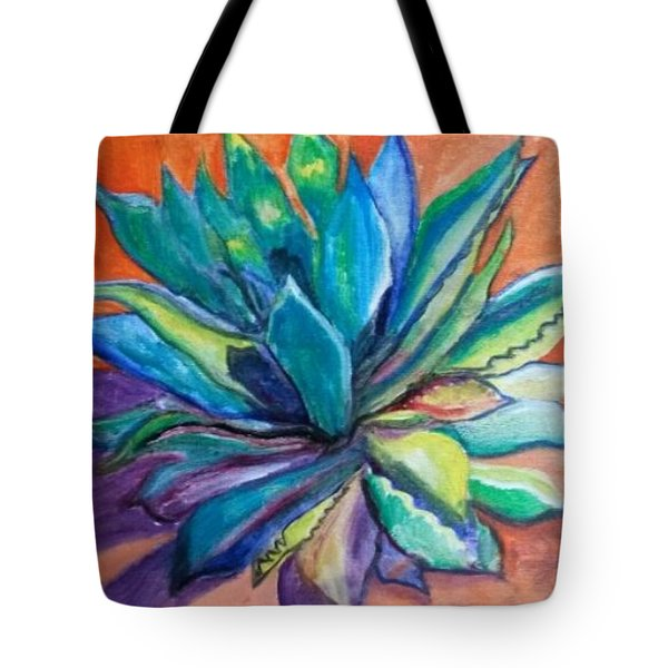 Agave State Of Mind Tote Bag by Carol Duarte