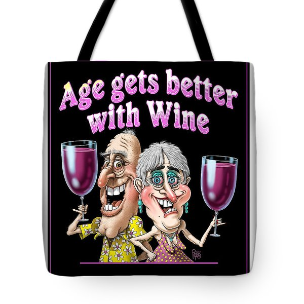 Age Gets Better Couple Tote Bag