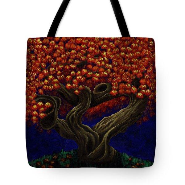 Aged Autumn Tote Bag
