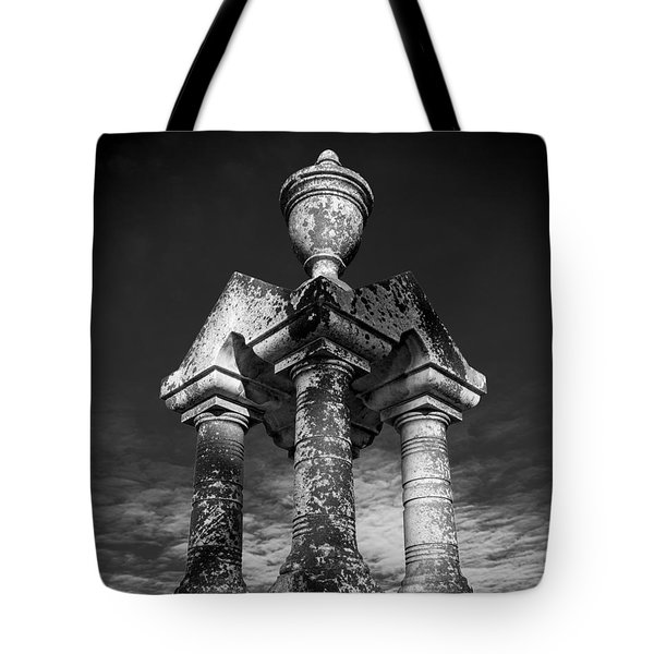 Aged Stone And Sky Tote Bag