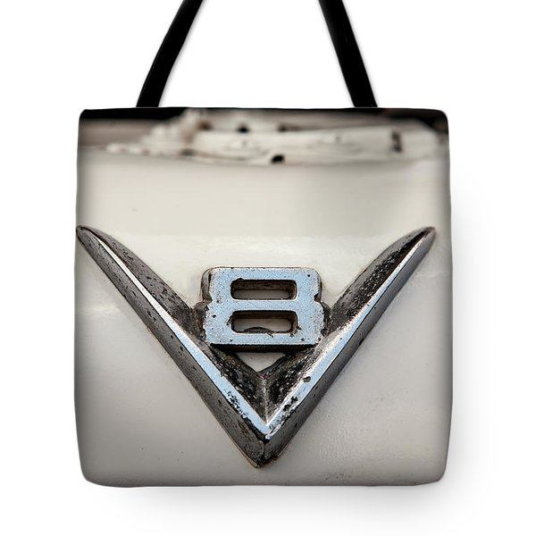 Aged V8 Tote Bag
