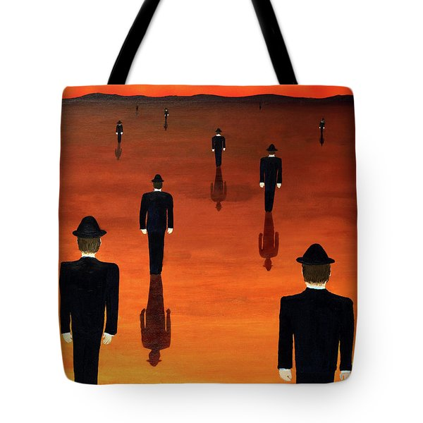 Agents Orange Tote Bag