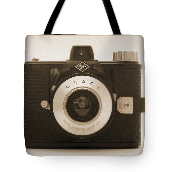 Agfa Clack Camera Tote Bag by Mike McGlothlen