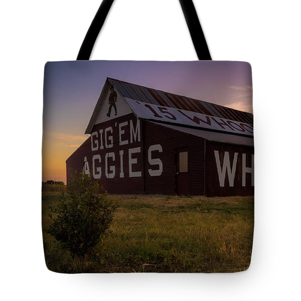 Aggie Sunset Tote Bag