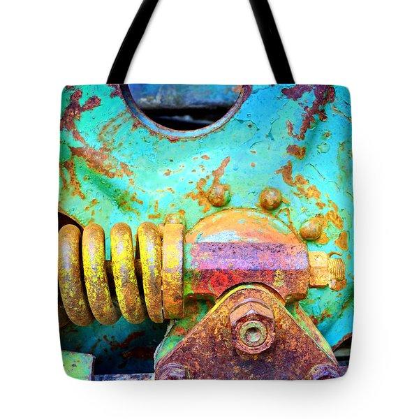 Aging Vividly Tote Bag