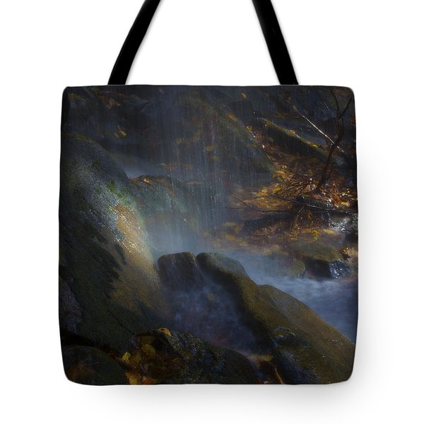 Tote Bag featuring the photograph Aglow by Ellen Heaverlo