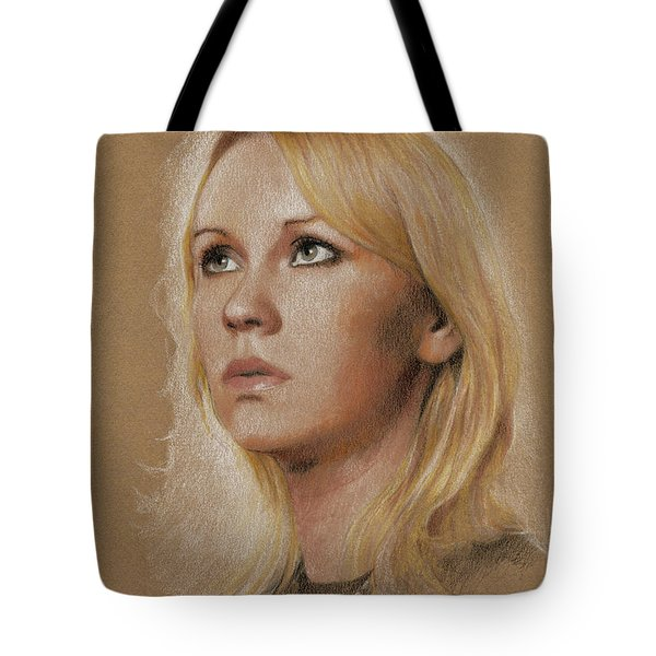 Tote Bag featuring the photograph Agnetha by Jaroslaw Blaminsky