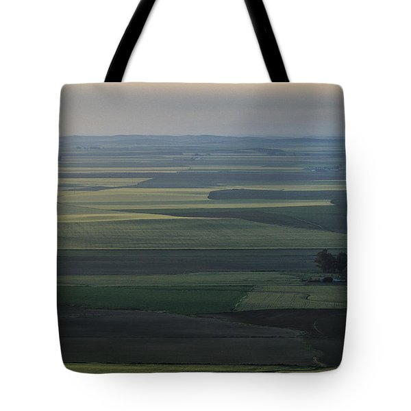Agriculture Fields Tote Bag