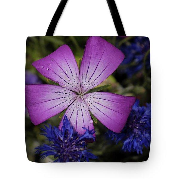 Agrostemma Tote Bag