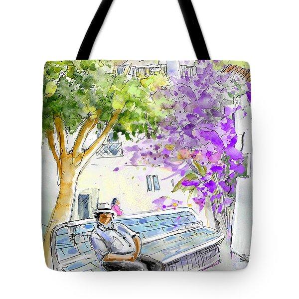 Agua Amarga 11 Tote Bag by Miki De Goodaboom