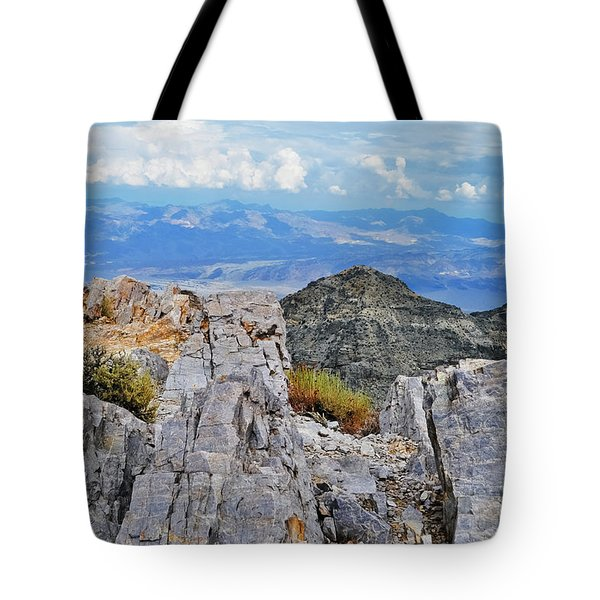 Aguereberry Point Rocks Tote Bag
