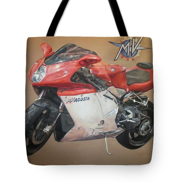 Agusta Tote Bag by Cherise Foster