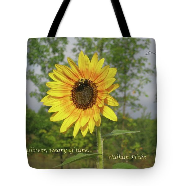 Ah, Sunflower Tote Bag