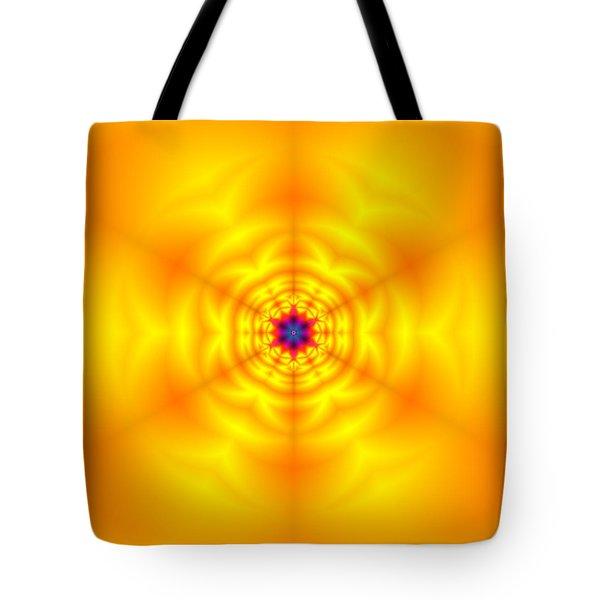 Tote Bag featuring the digital art Ahau 6 by Robert Thalmeier