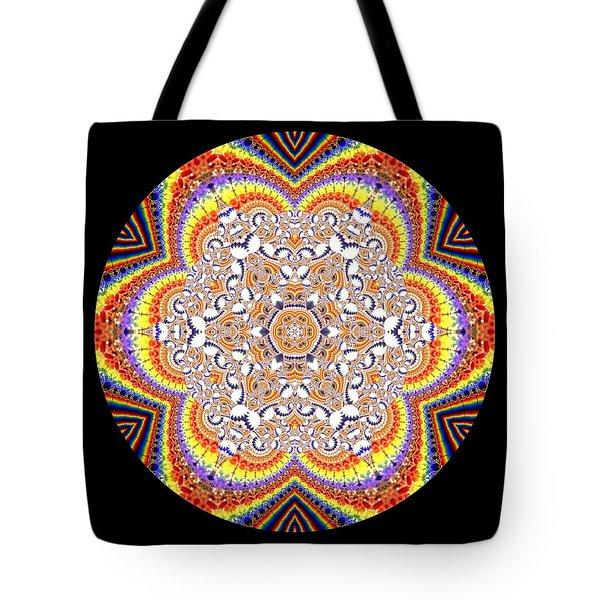 Tote Bag featuring the digital art Ahau 6.2 by Robert Thalmeier
