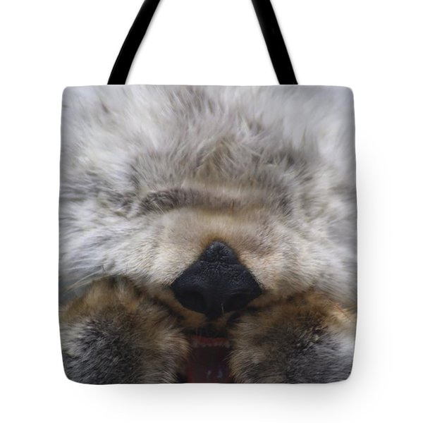 Tote Bag featuring the photograph Ahhhhhhhh by Nick Gustafson