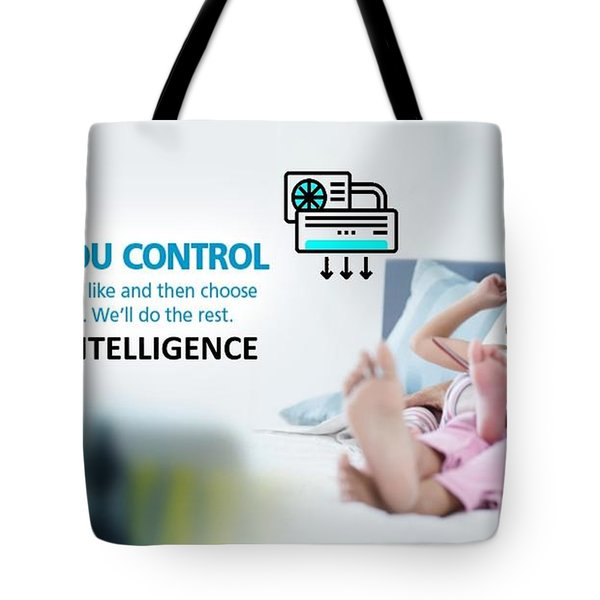Ai Controlled Air Conditioner Tote Bag