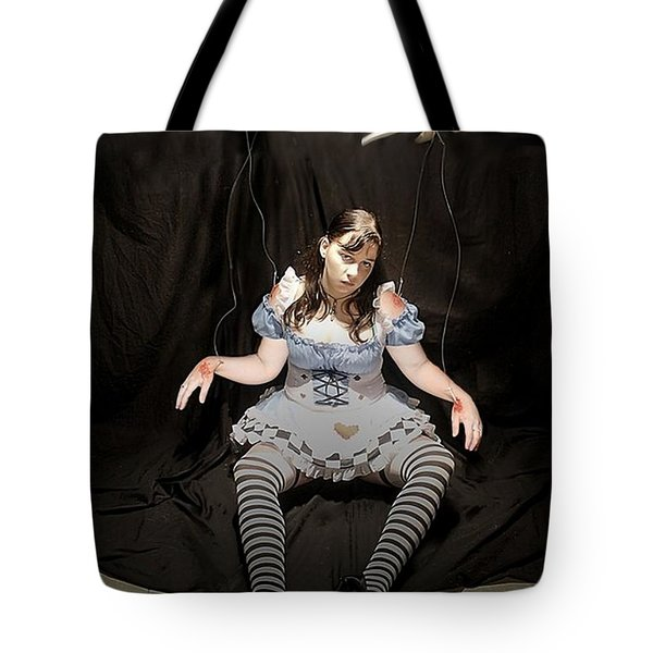 Aice On Strings Tote Bag by Matt Nelson