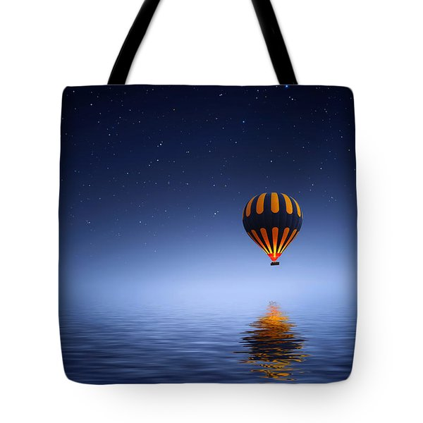 Air Ballon Tote Bag by Bess Hamiti
